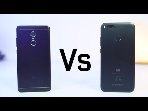 MI A1 vs Redmi Note 4 Speed test and Memory Management Test