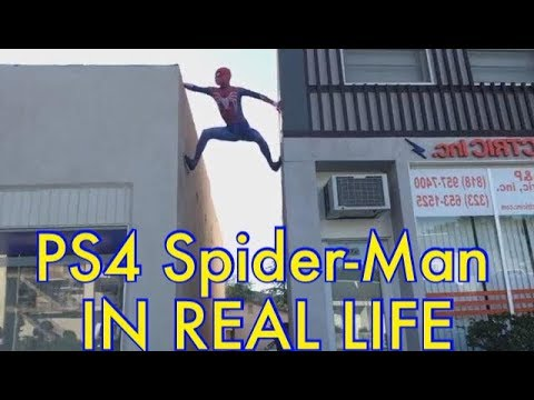 LIVE SPIDER-MAN DANCING