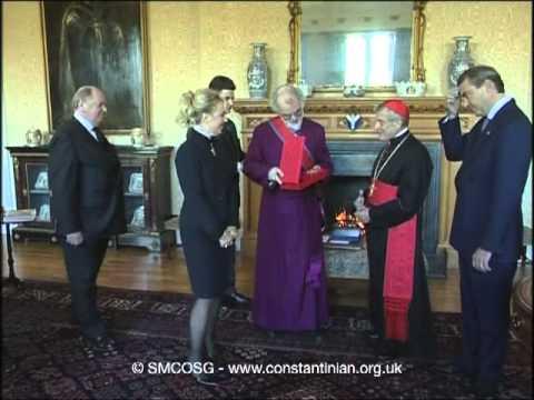 Ordine Constantiniano 2003 – Investitura dell'Arcivescovo di Canterbury