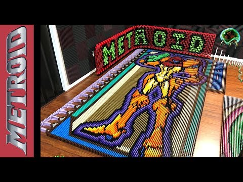 Metroid in 26 181 Dominoes
