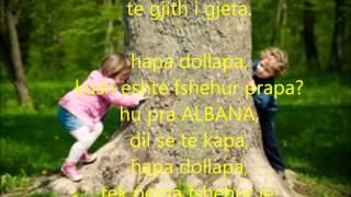 Kenge Per Femije-HAPA DOLLAPA Me Tekst Ne Shqip.