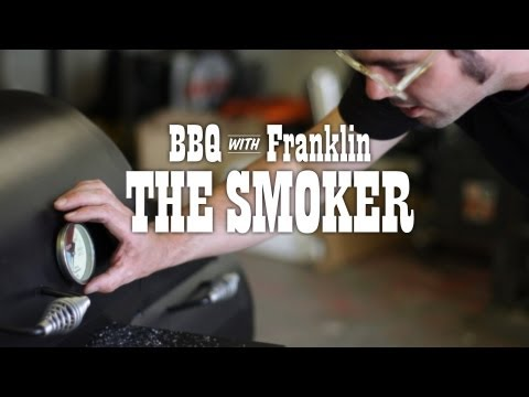 Smoker - Before you put the brisket on, Aaron explains how to modify and season your smoker. Music: 