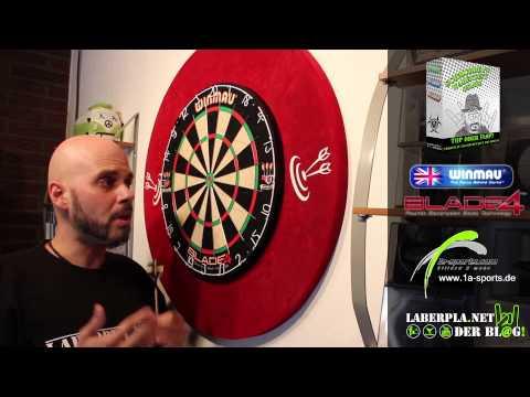 Schmuddel's Warentest: Winmau Blade 4 Dartboard & Surround