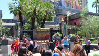 Guardians of the Galaxy: Awesome Dance Off! in Disney California Adventure at Disneyland Resort on 13 Jul 2017.