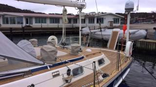 Yaghan and the big refit at Hallberg-Rassy.
