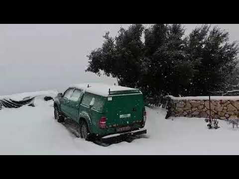 שלג בבית גאן 2021