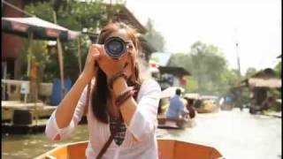 Hearing The Sunshine (Part 1) - Bangkok's Floating Market - Thailand Tourism
