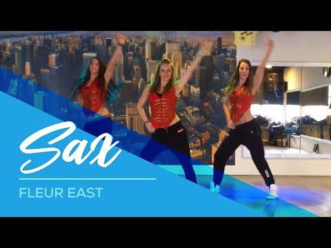 Video Sax - Fleur East - Easy Fitness Dance Choreography download in MP3, 3GP, MP4, WEBM, AVI, FLV January 2017