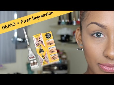 Benefit KA Brow DEMO + First Impression | Mo Makeup Mo Beauty