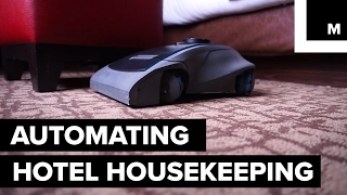 'Rosie' by Maidbot is an autonomous floor cleaner that provides safe and cost-efficient automated solutions to the hospitality industry. READ MORE: http://mashable.com/FACEBOOK: https://www.facebook.com/mashable/TWITTER: https://twitter.com/mashableINSTAGRAM: https://www.instagram.com/mashable/