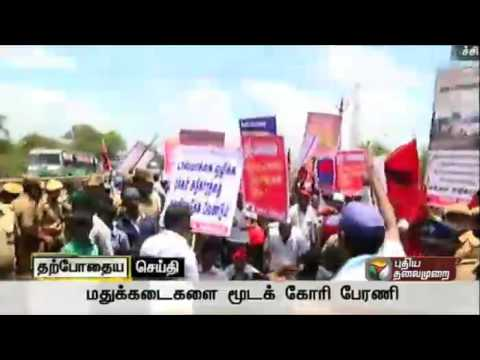 Live-Scuffle-with-police-in-Makkal-Adhikaram-protest-against-TASMACs