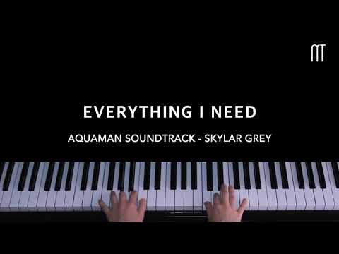Skylar Grey – Everything I Need Piano Cover (Aquaman Ending Song)