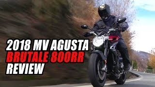 7. 2018 MV Agusta Brutale 800 RR Review