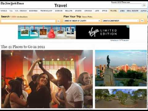 Balance de Proexport en turismo - Rendición de Cuentas 2011 - MinComercio