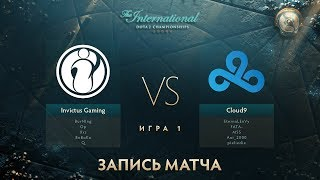 IG vs Cloud9, The International 2017, Групповой Этап, Игра 1