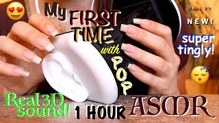 My best 1 HOUR of REAL 3D SOUND, super intense ASMR: FINALLY ✅ I TEST MY NEW MICROPHONE & RECORDER! 🎦 This is my FIRST TIME with this new super binaural microphone and I ALREADY LOVE IT SO MUCH! 😍😍😍🎤❤️🎧In this video there are so many different TRIGGER like: SCRATCHING, TAPPING, VERY SLOW WHISPERING (ita), CRINKLY sound, EATING (and drinking!) sound, etc....!!! ☑️I hope you like it and enjoy it for your relaxation! 💤 😴 😊 ☺️Suggestions are always welcome!!! ...PLEASE leave me comments, share this video with your friends, write me and subscribe on my channel! ♥ I'll really appreciate it!THANK YOU SO MUCH! ❤️I want to make high quality video, with special items and perfect sound, but to do that I also need you!I need your support to be able to buy new tools, particularly new professional microphones (I'd like   3 D i o  microphone!)!!I need your support to improve and grow more and more and at the same time to offer products of higher quality and amazing!I hope to have a helping hand from you who support me and believe in me! Each month I'll publish for you new videos...10-11 at least!The ASMR is a wonderful world that must be supported, especially here in Italy, where it still is not well known. The ASMR gives countless benefits to the people, can help stress, depression, anxiety, sadness. etc.I'll do everything to make you feel better and help you relax! 💤 ----------------------------------------SUPPORT MY CHANNEL----------------------------------------✦ SUPPORT ME with PAYPALif you want help me to improve the quality of this channel:https://www.paypal.com/cgi-bin/webscr?cmd=_s-xclick&hosted_button_id=JLDPTT9GLDES4Thank you very much for your generosity and kindness ❤️✦ PATREON: https://www.patreon.com/dani89---------------------FOLLOW ME---------------------✦ FACEBOOK dani 89: https://www.facebook.com/dani89longnaturalnails✦ INSTAGRAM: https://www.instagram.com/dani89_officialpage/✦ (second channel YouTube) dani ASMR: https://www.youtube.com/channel/UChR0iHoF8N_KRrIyhH-Plig---------------------------------------------------------------For BUSINESS and PRIVATE INQUIRIES---------------------------------------------------------------✎ If you want me to try your products or for any other request, please contact me on ✉ daniela.uptodate@gmail.com