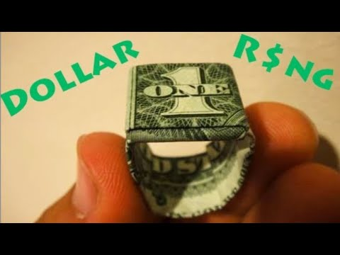 origami - PLEASE NOTE: Making this model does NOT ruin or destroy the dollar in any way! It is simply being folded, there are NO tears or cuts being made in the dol...