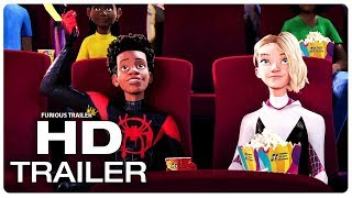 SPIDER-MAN: INTO THE SPIDER-VERSE Miles And Gwen Date Night Trailer (NEW 2018) Superhero Movie HD
