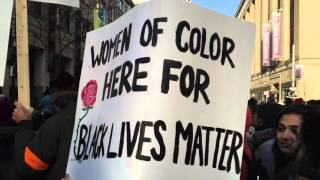 Black Lives Matter Toronto - Police Headquarters Sit In Rally March 26, 2016