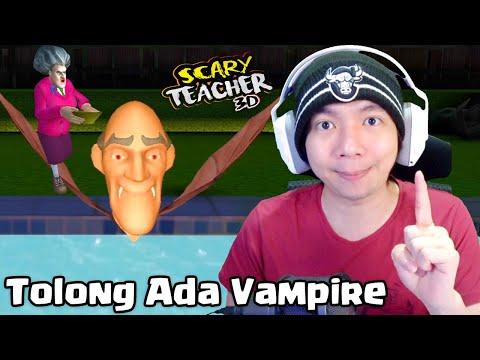 Ternyata Ada Vampire Disini - Scary Teacher 3D Indonesia