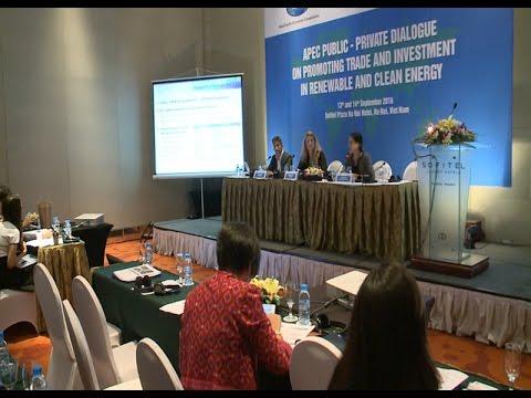 Thúc đẩy thương mại - đầu tư về năng lượng sạch và tái tạo
