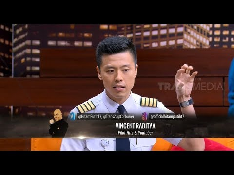 Vincent Raditya, Pilot Hits & Youtuber | HITAM PUTIH (18/12/18) Part 3