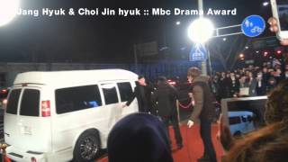 141230 Jang Hyuk & Jin Hyuk MBC Drama Awars 2014 :: Red carpet