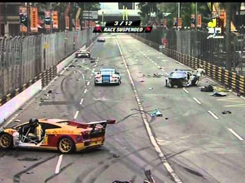2011 第五十八屆澳門格蘭披治大賽車GT盃嚴重意外