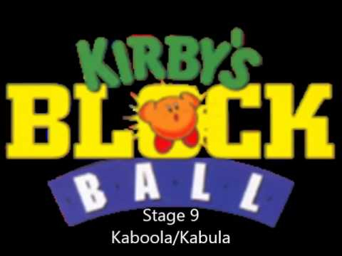 Kirby's Block Ball OST