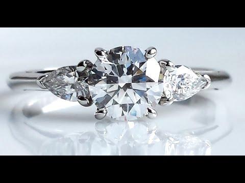 Tiffany & Co. 1.24ct Diamond Engagement Ring