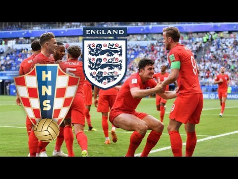 Croacia vs Inglaterra | Mundial Rusia 2018 | Semifinales , Mejores Jugadas | Simulación en FIFA 18