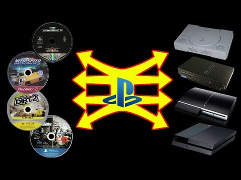 Inserting PlayStation discs into PlayStations (60fps)