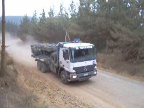 Camiones Forestales en Constitución (видео)