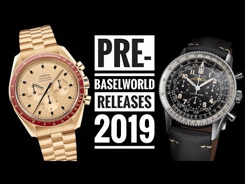 Pre-Baselworld Releases - 2019 | WATCH CHRONICLER видео