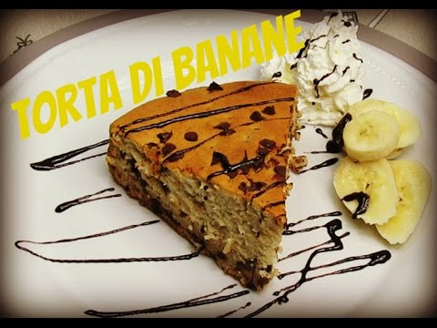 torta banane e cioccolato - ricetta