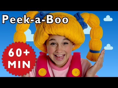 Peek-a-Boo + More | Nursery Rhymes from Mother Goose Club