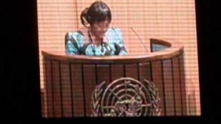 ADF-VII . 2010 - Esther Agbarakwe Speech - 10 - 15 October 2010— Addis Ababa, Ethiopia