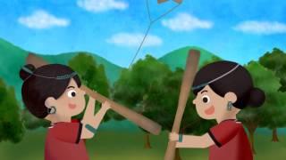 族語夢工廠- 布農語 -12 -卑南族動畫 風箏救弟