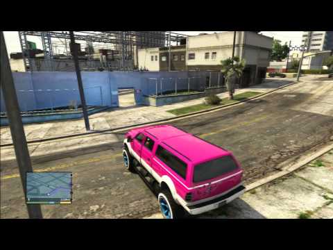 GRAND THEFT AUTO 5 THE BEST MONSTER TRUCK