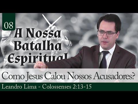 08. Como Jesus Calou Nossos Acusadores?