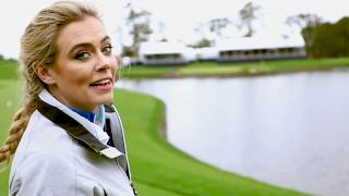 Alexandra O'Laughlin Plays TPC Sawgrass' Famed 17th Hole | Golf Channel