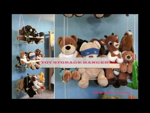 Best DIY Stuffed animal storage solutions for your kids