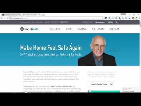 Simple Safe Home Security Systems Review