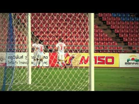 Highlight TPL 2015  Bangkok United vs Osotspa M-150 Samutprakan FC