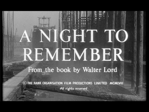 A Night to Remember- In Colour!