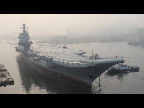 Neuer chinesischer Flugzeugträger auf Testfahrt
