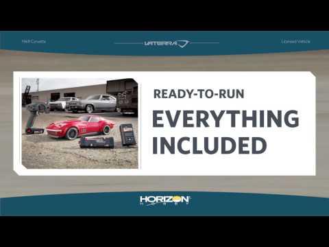 видео: Радиоуправляемая машина Vaterra Corvetter Custom 1969 V100-S 4WD 2.4Ghz