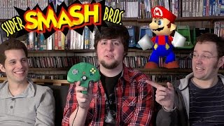Smash Bros 64 (N64) Jontron, Mike Matei and James Rolfe!