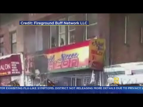 Fire Sweeps Through Bronx Nail Salon
