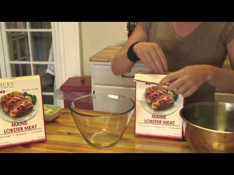 How to Thaw your Frozen Maine Lobster Meat